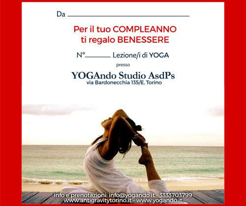 Gift Card Yogando 2017